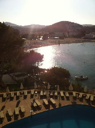 Palladium Hotel Cala Llonga: from our roof terrace