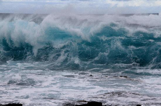 Kalaekilohana: Aquamarine Wave at Ka-Lae / Southpoint