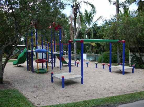 BIG4 Atherton Woodlands Tourist Park: Children's Playground