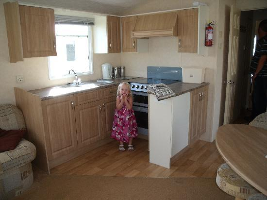 Rockley Park Holiday Park - Haven: kitchen area