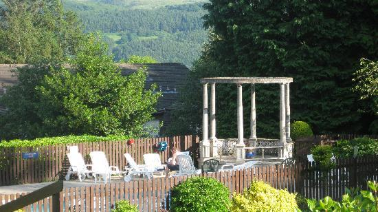 Plas Talgarth Holiday Resort: Outdoor swimming pool