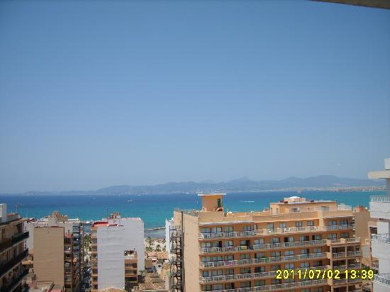HSM Reina del Mar: view fron our room(9th floor)