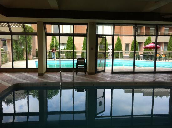 Ramada Plaza Niagara Falls: Nice indoor/outdoor pool.