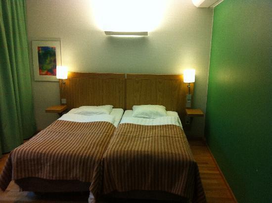 Scandic Tampere City: Familienzimmer - Elternbett