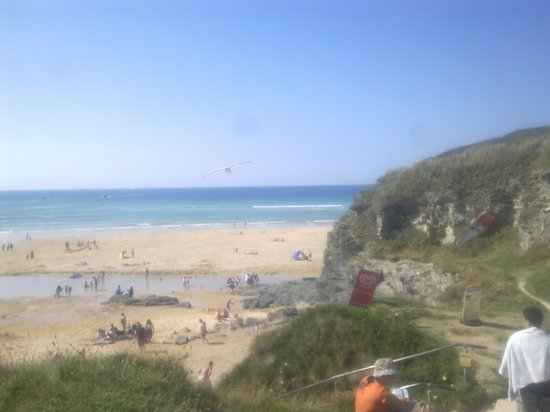 Hayle, UK: The beach