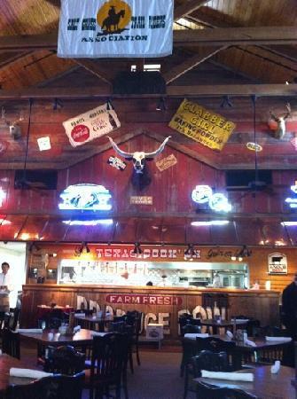 Saltgr Steak House Inside