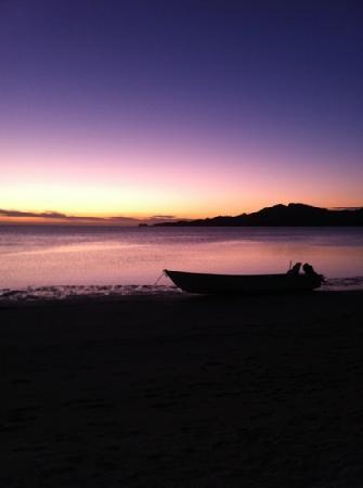 Lomani Island Resort: sunset
