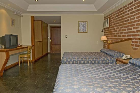 Hotel del Dique: Habitación Standard twin