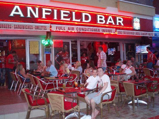 Club Aida: Anfield bar in soccer street