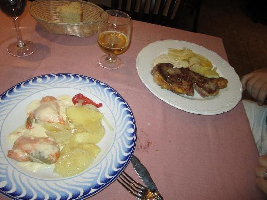 Los Montes de Galicia - Aguado : not good dishes
