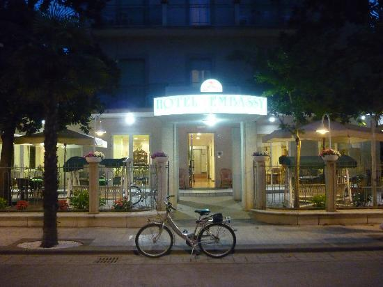 Hotel Embassy: bicyclette