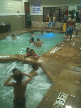 Sleep Inn & Suites: Pool!