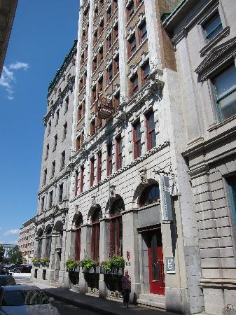 Hotel Le Germain Quebec: Entrance