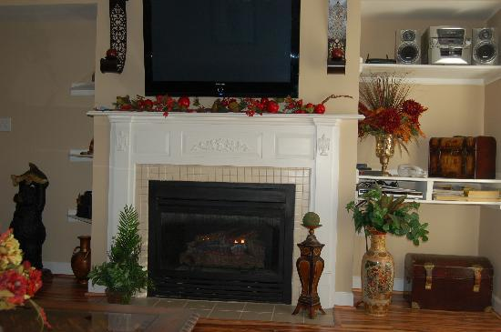 Appleview River Resort: Living Room