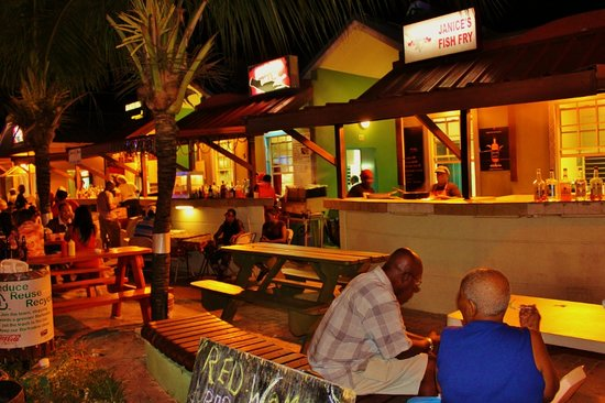 Oistins, Barbados: so many food stalls to choose from