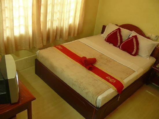 Aroma Daily Guesthouse: Double bed