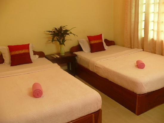 Aroma Daily Guesthouse: Twin bed
