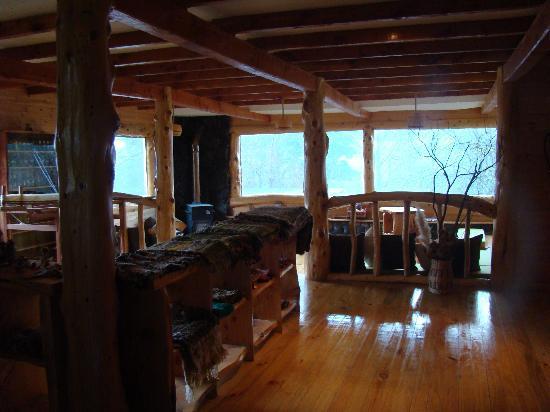 Peumayen Lodge & Termas: recepeción
