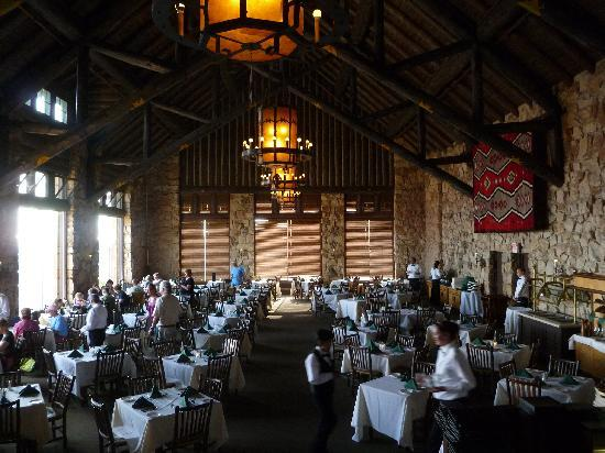 Charming Grand Canyon Lodge   North Rim: Grand Canyon Lodge Dining Room Part 4