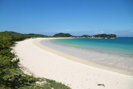 Iki, Japón: 壱岐筒城浜全景
