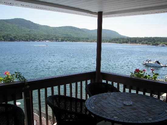 Lake Motel: View From Balcony