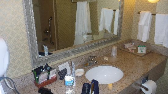 Comfort Suites Mount Vernon: Nice sink