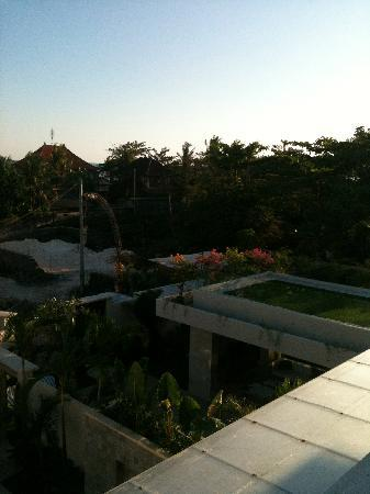 Pantai Indah Villas Bali: view from rooftop