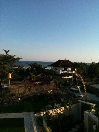 Pantai Indah Villas Bali: ocean view