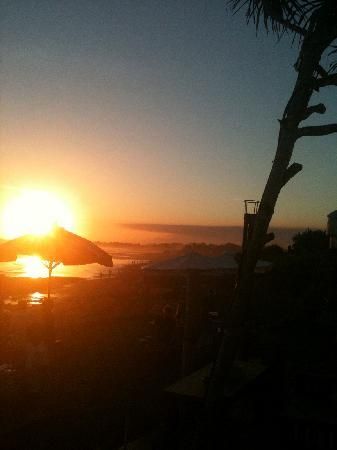 Pantai Indah Villas Bali: sunset drinks at Echo Beach