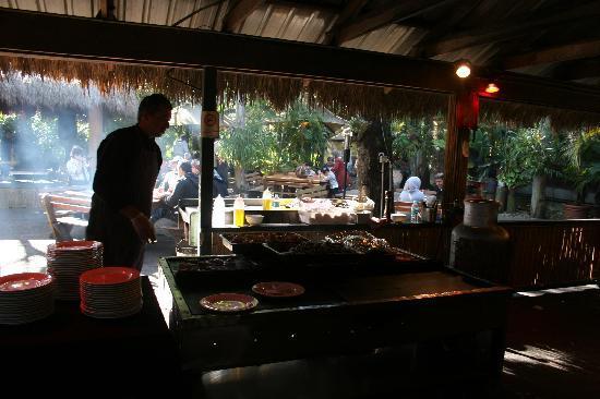 Tallship Island Adventures: Part of the BBQ Buffet Lunch