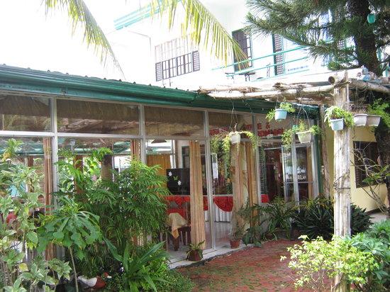 Villa Alzhun Tourist Inn and Restaurant: garden near the swimming pool