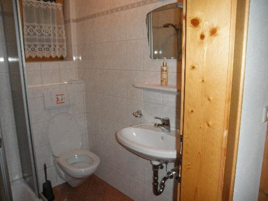 Hotel Auer: leuke schone douche