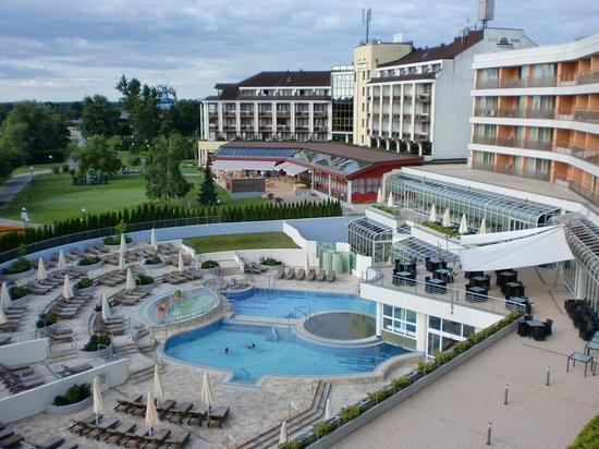 Hotel Livada Prestige: Blixck vom Balkon