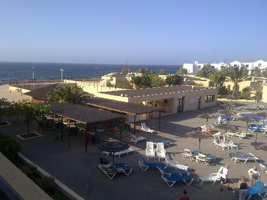 Hotel Coronas Playa: View from our room