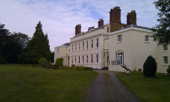 Haughton Hall: The back - as per the website!