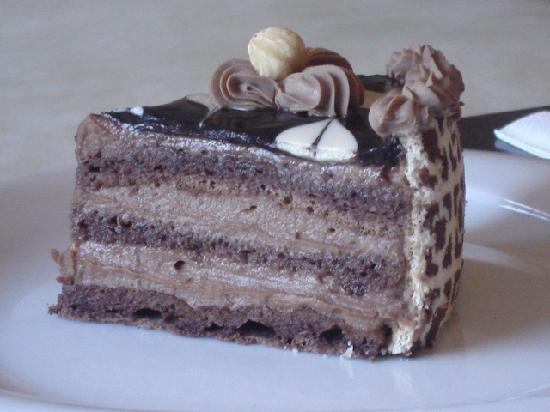 Grand Hotel Varna: Cakes in Grand Varna coffee lounge