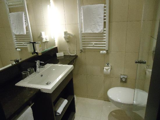 InterCityHotel Berlin-Brandenburg Airport: bathroom