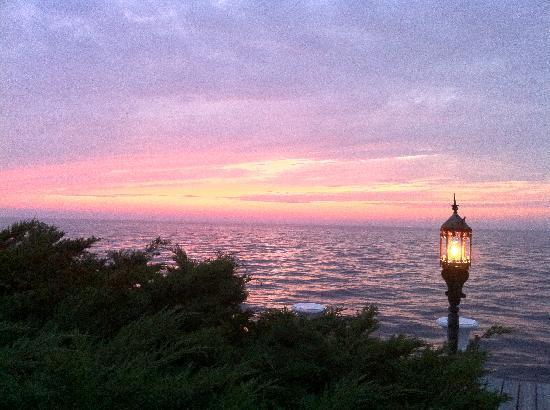 Sunset at Belvedere Hotel