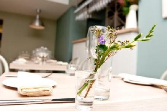 Aniar Restaurant: Aniar table setting - Galway Restaurant