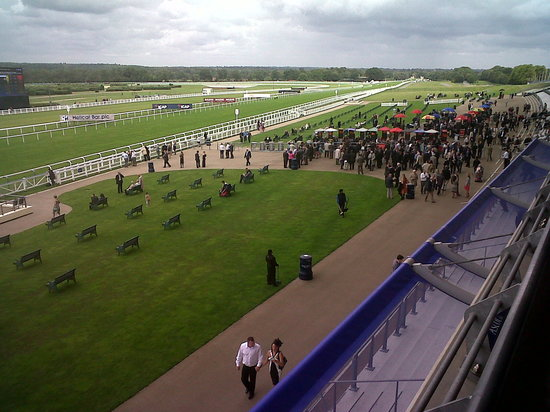 Ascot, UK: View from Grandstand