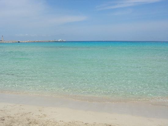 Hotel Al-Tair : la spiaggia di san vito