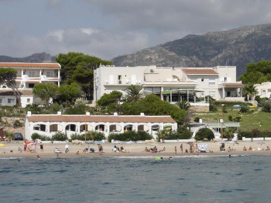 Hotel Llorca: primera linea de mar