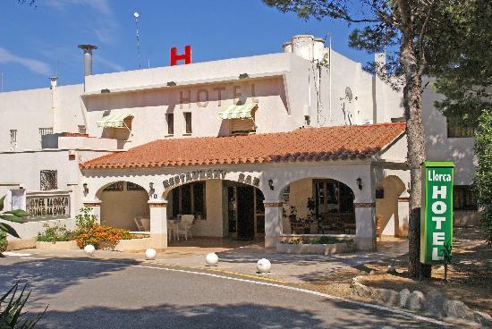 Hotel Llorca: entrada hotel