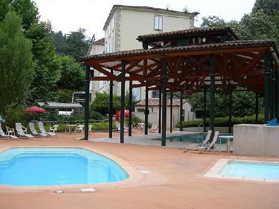 Grand Hotel des Bains: Espace piscines