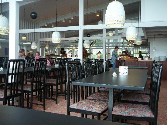 Hotel Abildgaard: Litt av den lyse og luftige spisesalen