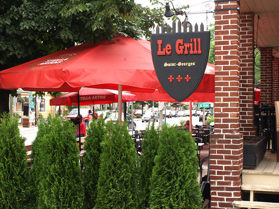 Le Grill Saint George's : Photo Tremblant Express