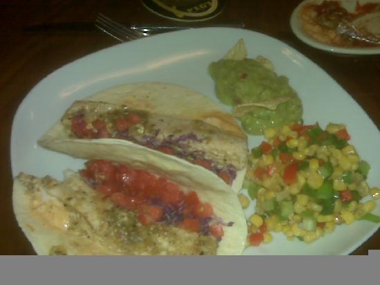 Peg's Cantina: Mahi Tacos