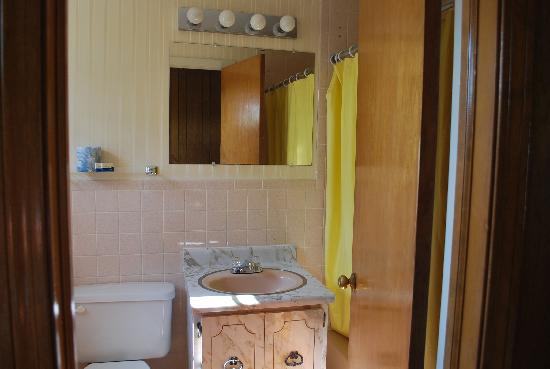 Colonial Village Motel & Cottages: Bathroom 1