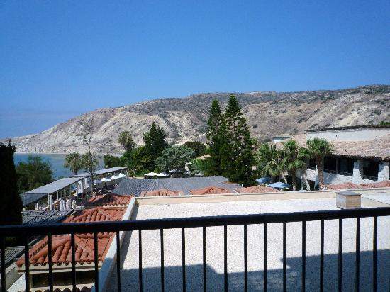 Columbia Beach Resort Pissouri : Side sea view from balcony