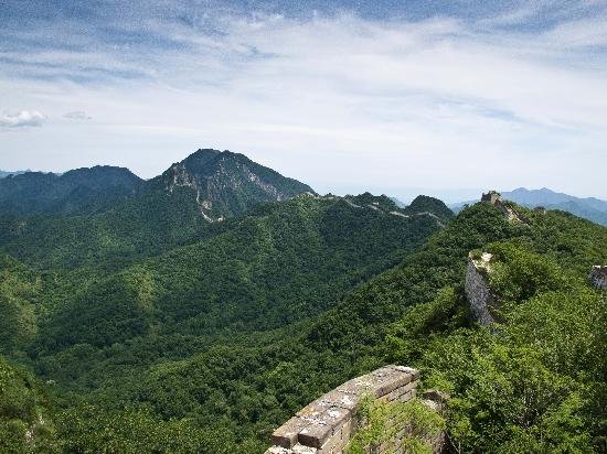 The Great Wall Hike (James Private Tour) : Jiankou Great Wall view